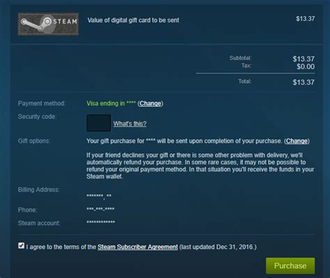 Send A Steam Gift Card - how to send a steam digital gift card in any amount