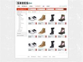 free shopping cart website template store