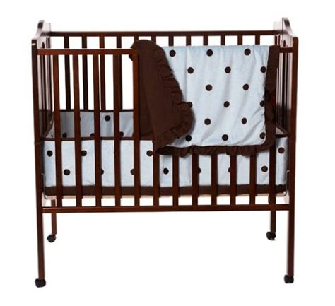 Cheap Mini Cribs Discount Deals American Baby Company 3 Portable Mini Crib Set With Large Espresso Dot