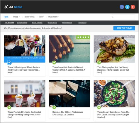 35 best google adsense ready wordpress themes 2017 to earn 8 best google adsense ready wordpress themes for 2017