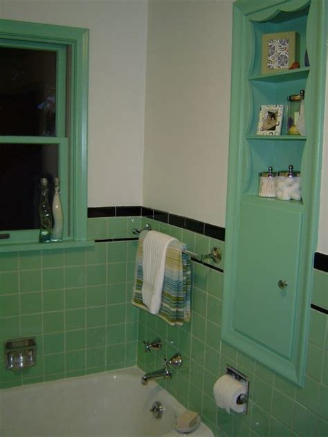 1950 bathroom tile 36 1950s green bathroom tile ideas and pictures