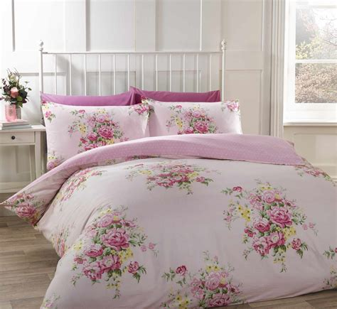 Bed Cover Set 3d Uk 160x200 100 brushed cotton flannelette bedding quilt duvet cover