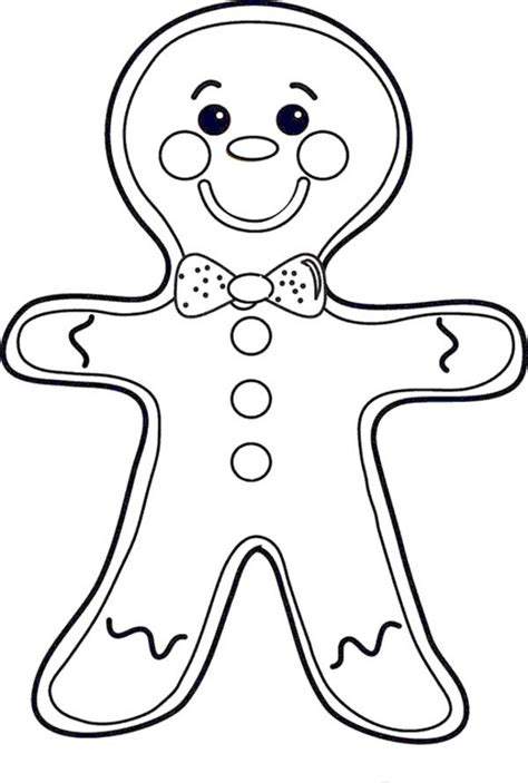Printable Gingerbread Man Coloring Pages Coloring Me Coloring Pages Gingerbread