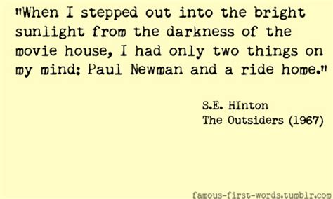 friendship themes in the outsiders character quotes from the outsiders quotesgram
