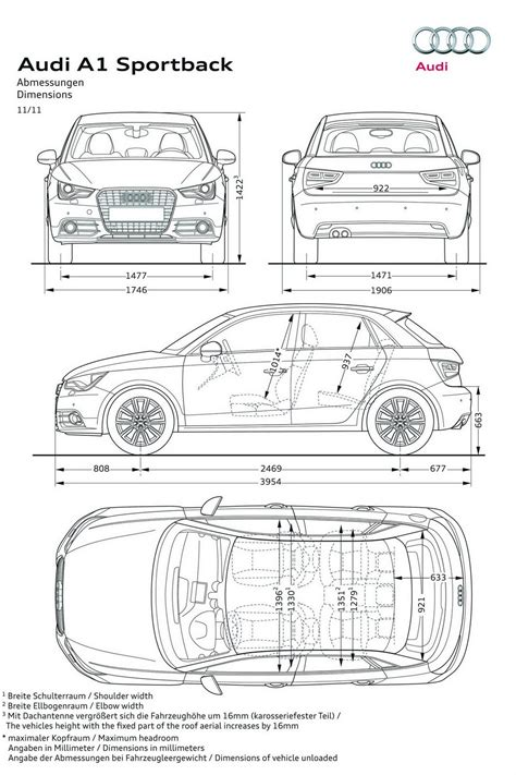 dimensioni audi a1 5 porte unveiled 2012 audi a1 sportback