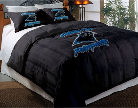 panthers bedding carolina panthers nfl twin chenille embroidered comforter