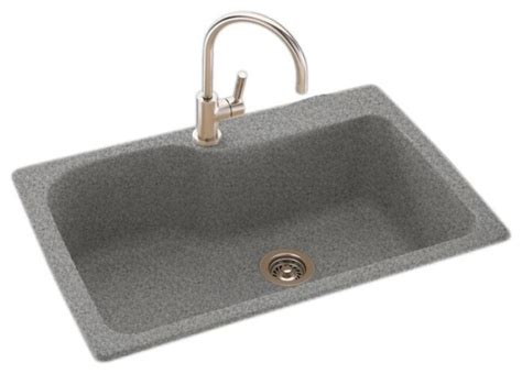Solid Surface Kitchen Sink Swan Swan 33x22x10 Solid Surface Kitchen Sink 1 Reviews Houzz