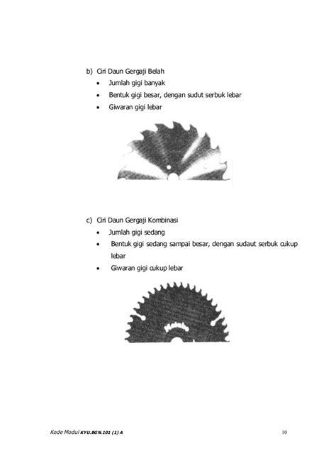 Daun Gergaji Tangan menggunakan peralatan mesin tangan listrik