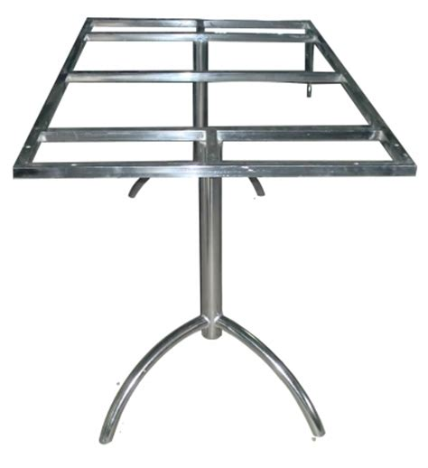 buildmantra stainless steel dining table frame only