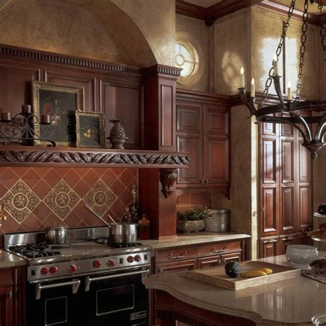 75 best Old World Kitchens images on Pinterest   Country