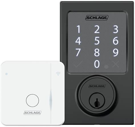 Wifi Bolt Lock schlage sense smart deadbolt now remotely controllable with wi fi adapter mac rumors