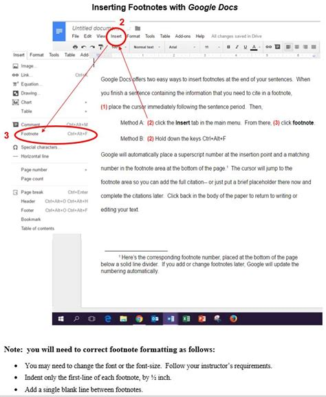 format footnotes google docs home footnotes in chicago turabian style libguides at