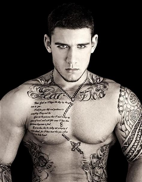 hot men with tattoos 85 best tattoos for