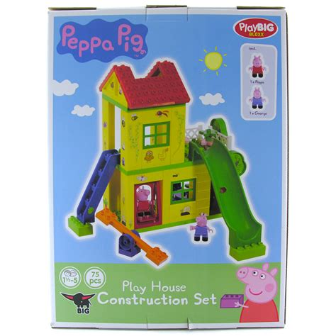 peppa pig house house construction pig house construction