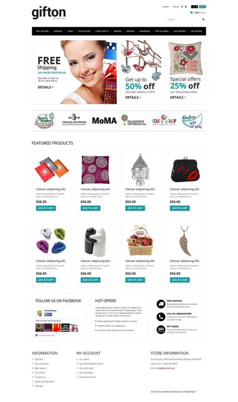 Bootstrap Gifts Store Responsive Prestashop Theme Templates Buy Website Templates Web Buy Web Templates