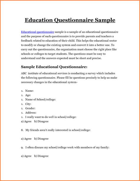 Research Questionnaire Letter Research Survey Cover Letter Market Research Analyst Cover Letter Http Www Of