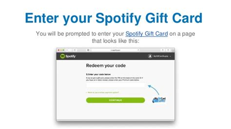 Buy Spotify Gift Card - spotify buy gift card