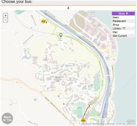 icuhk  provide optimized routes  navigating