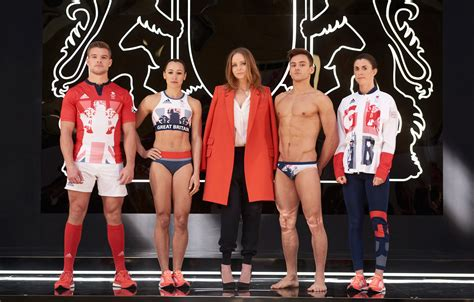2016 olympic wardrobe stella mccartney and adidas unveil the new team gb kit