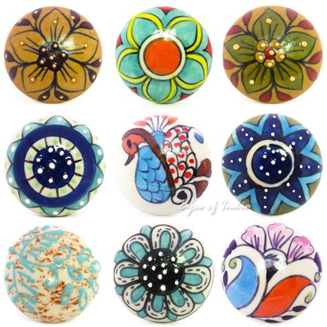 decorative knobs and pulls decorative ceramic cabinet cupboard door dresser knobs
