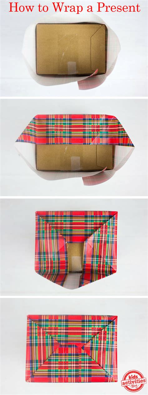 how to wrap presents how to wrap a present kids activities blog