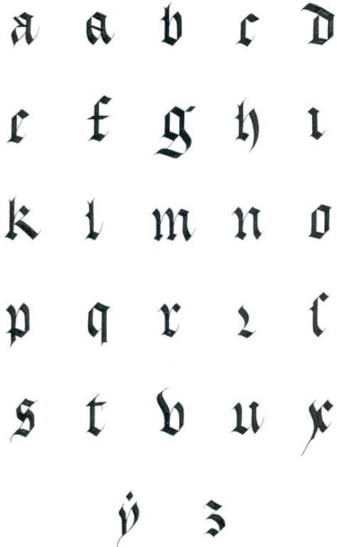 Exemple De Lettre Gothique Calligraphie Germanique Vue Par La Graphologie Exemple De Lettre Germanique