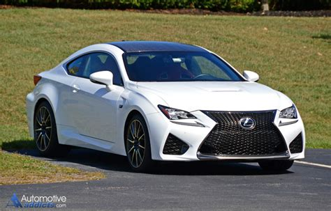 lexus rcf white 2015 lexus rc f first impressions and test drive