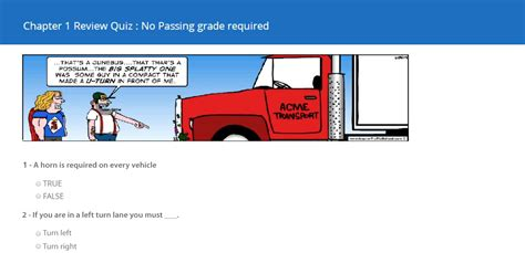 Traffic School   Defensive Driving by Improv