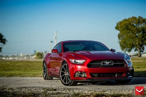 wheels mustang 50th anniversary 2015 ford mustang gt 50th anniversary pack 20 quot vossen cv