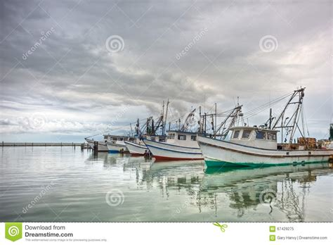 shrimp boat vector shrimp boats in a row stock image image of boat hulls