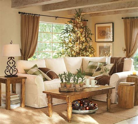 Country Living Room Decorating Ideas Rustic Country Living Room Neutral Colors I Would A Pop Of Orange Or Pinterest