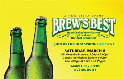 To Handcrafted Beers Made In Local Breweries - brew s best crafted festival las vegas