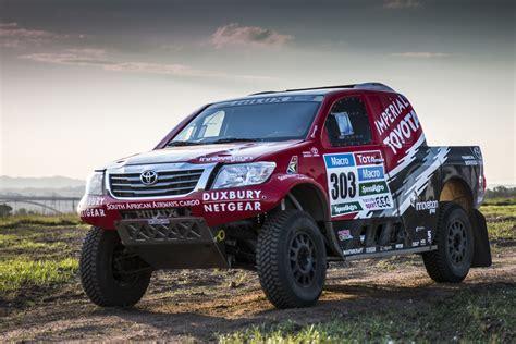 american toyota dakar 2015 race vehicles and equipment shipped to south