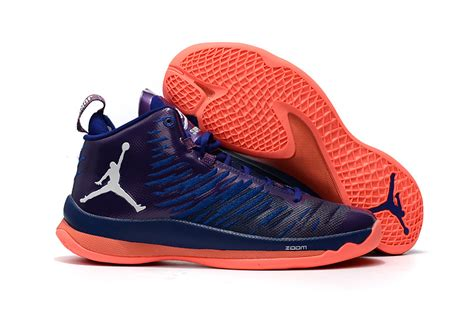 purple and orange basketball shoes fly 5 x purple orange basketball shoe for