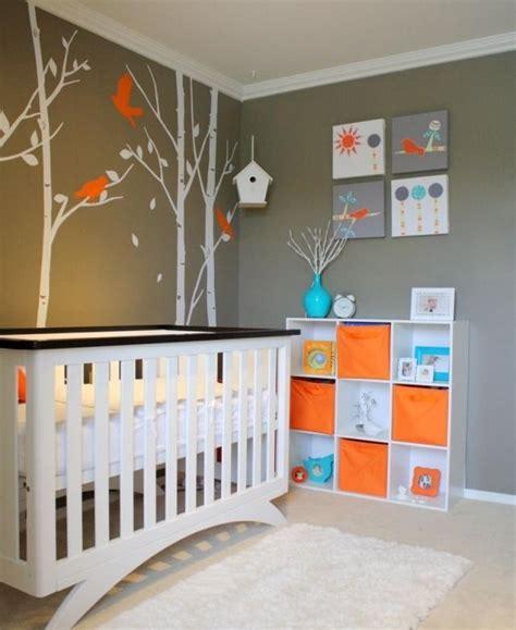 Babyzimmer Wandgestaltung Neutral by Babyzimmer Gestalten Neutral Graue Wandfarbe