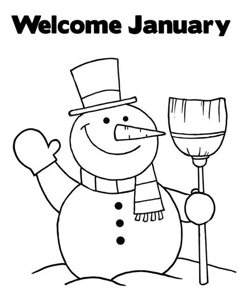 january coloring pages january coloring pages to and print for free