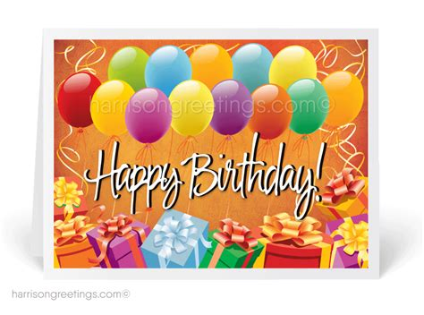 Greeting Card Happy Birthday To