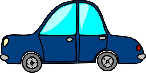 car clipart blue car clip at clker vector clip
