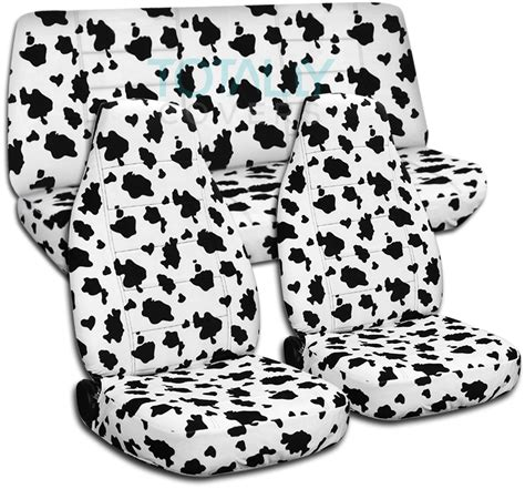 cowhide seat covers animal print car seat covers set semi custom zebra