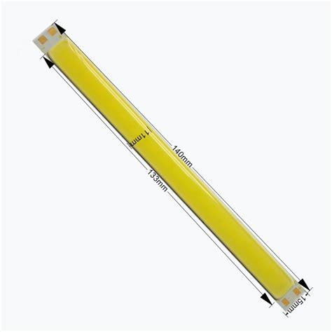 long skinny light bulbs 4w white cob 12v long thin strip light car daytime running