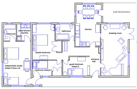 how to make floor plans draw house plans smalltowndjs