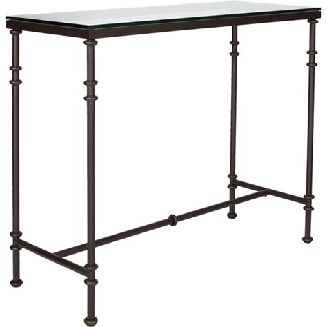 Pompidou Console Table, Small   OKA