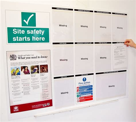 journal design safety construction site safety information notice board