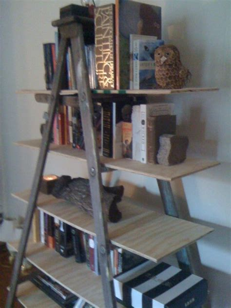 book ladder shelves ladder book shelf for the home