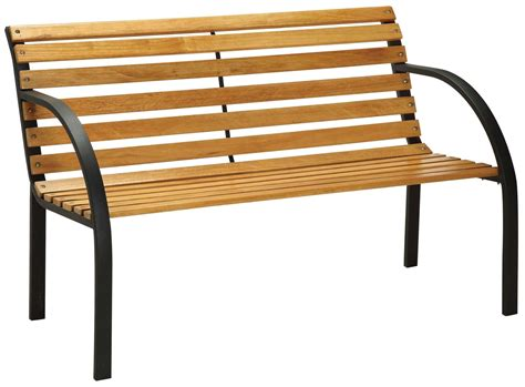 park bench slats dumas natural oak 12 piece slat park bench from furniture of america cm ob1805