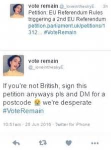 Attention Brits You To Sign This Petition Today by Petition Demanding Second Eu Referendum Investigated
