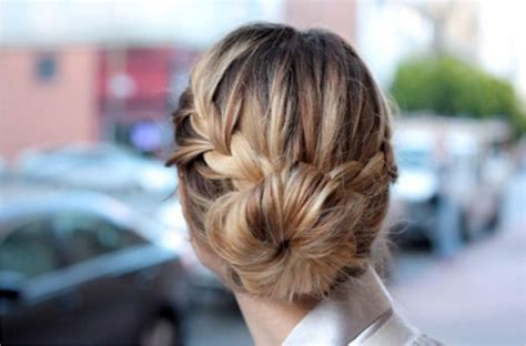 howtododoughnut plait in hair office appropriate hairstyles for women wardrobelooks com
