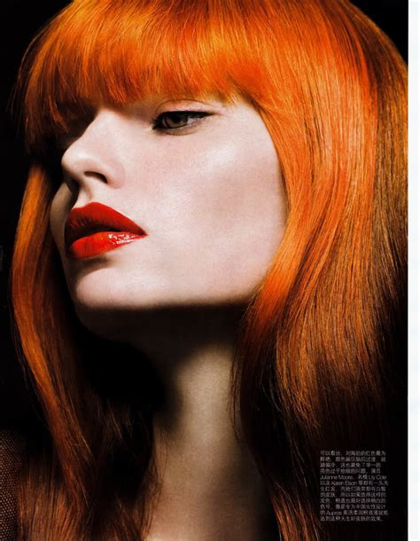 orange hair color blazing orange hair colors ideas