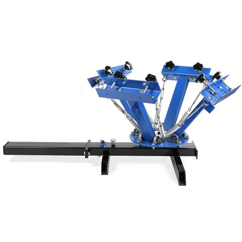 4 color press 4 color 1 station screen printing machine diy t shirt