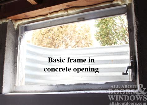 replace basement window in concrete how to replace a basement window in concrete